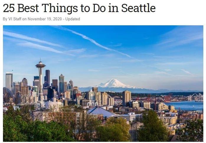 25 Best of Seattle